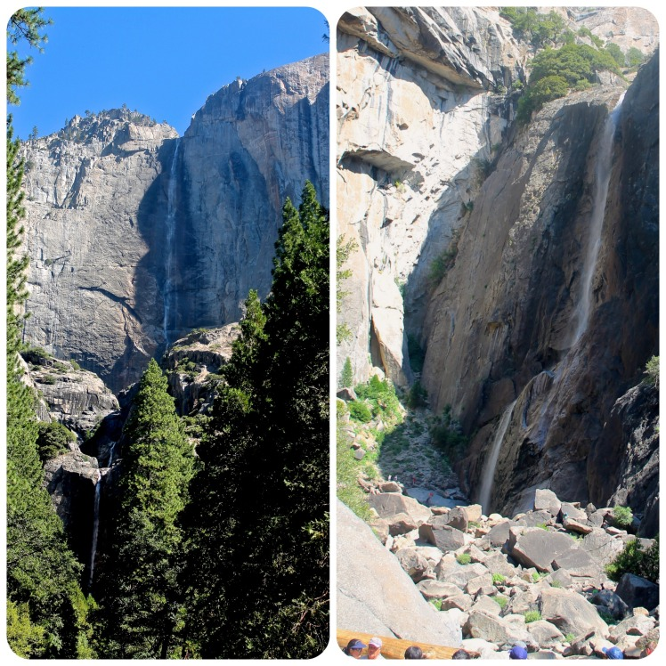 Yosemite falls collage