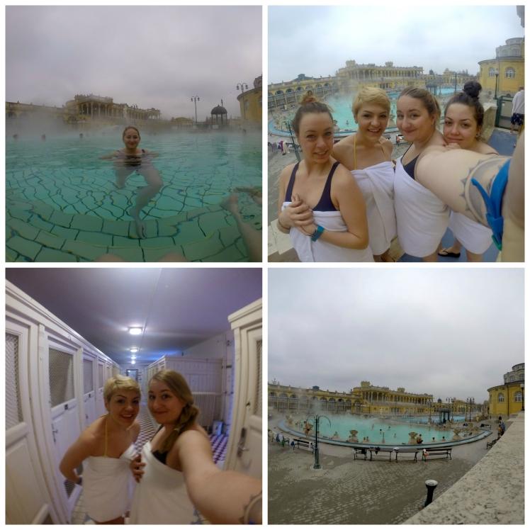 Baths collage