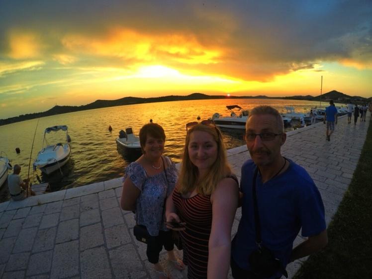 Croatian Sunset Selfie