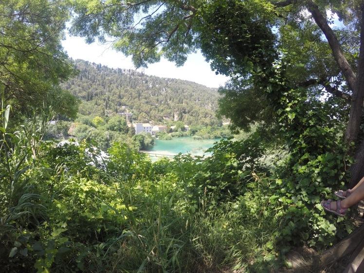 Krka National Park Through bushes
