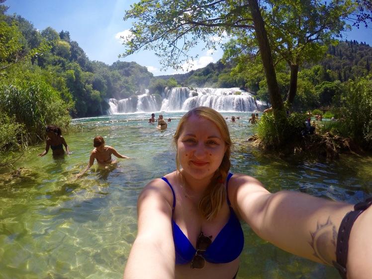 Selfie in Krka National Park