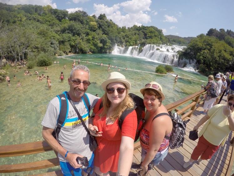 Selfie Krka National Park Croatia