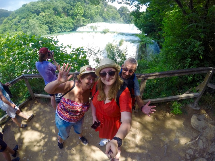 Silly Selfie Krka National Park
