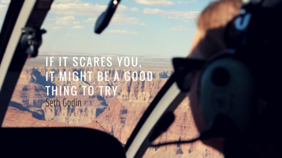 If it scares you quote