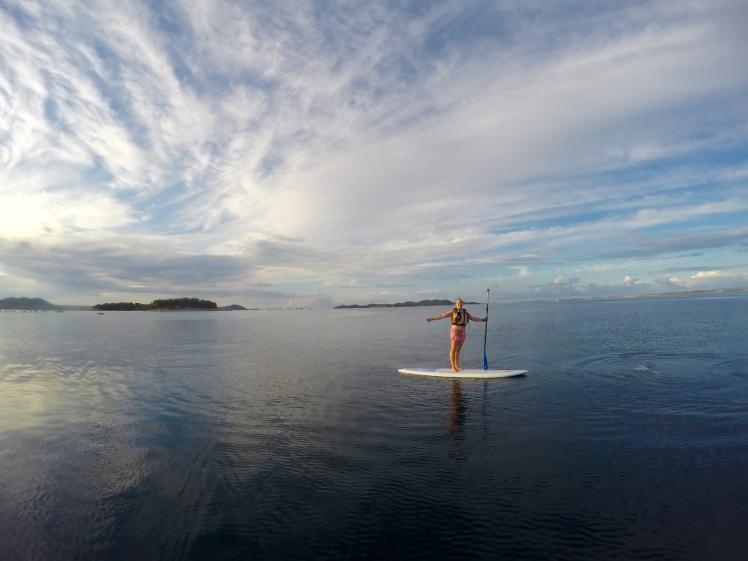 Go Pro Paddle board Croatia