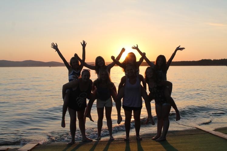 Camp California Croatia Sunset