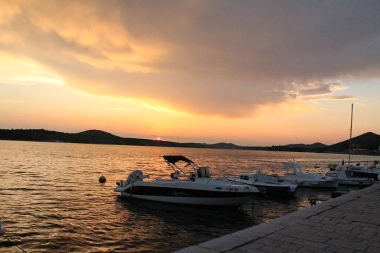 Most amazing sunset Croatia
